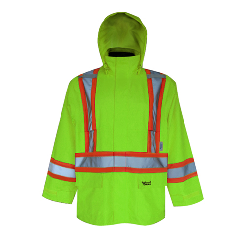Viking Handyman 300D XL Safety Jacket (6327JG-XL) - Green