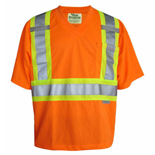 Viking Medium Safety T-Shirt (6006O-M) - Orange
