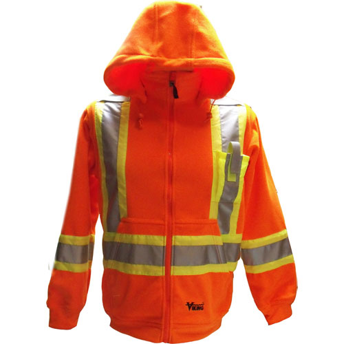 Viking Small Safety Hoodie - Orange