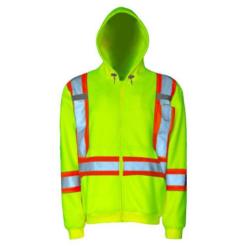 Manteau de sécurité à capuchon (M) de Viking (6420JG-M) - Vert