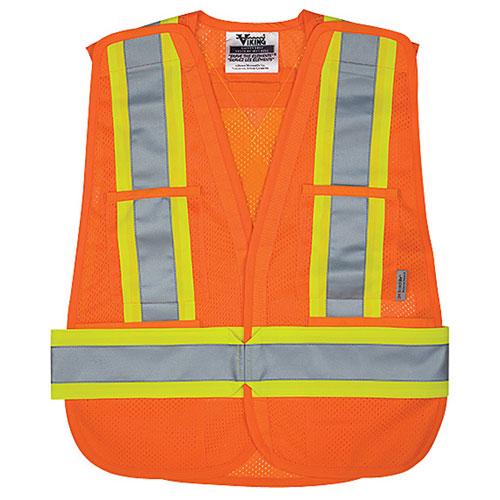 Viking Small Medium Safety Vest 6125O S M