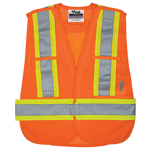 Veste de sécurité (TTG/TTTG) de Viking (6125O-2XL-3XL) - Orange