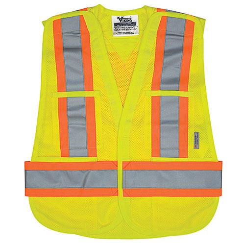 Viking Large-XL Safety Vest (6125G-L-XL) - Green