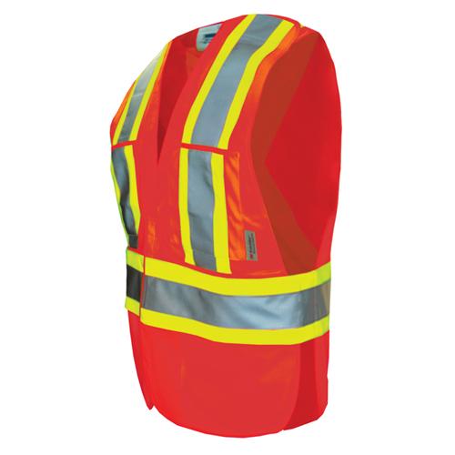 Viking Hi-Tec XXL-XXXL Safety Vest (6135O-2XL-3XL) - Orange