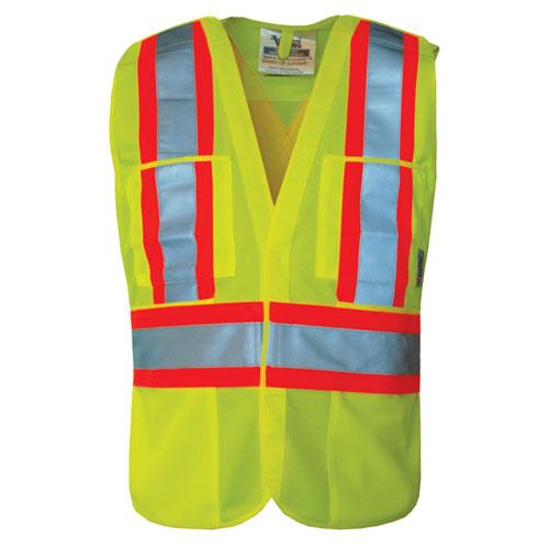 Viking Hi-Tec XXL-XXXL Safety Vest (6135G-2XL-3XL) - Green