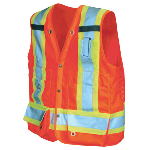Viking XXL Surveyor Safety Vest (6195O-XXL) - Orange