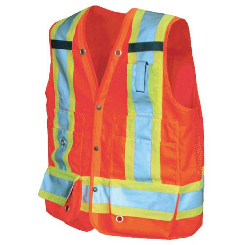 Veste de sécurité Surveyor (TTTG) de Viking (6195O-XXXL) - Orange