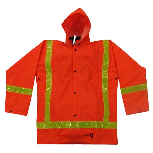 Viking XXL FR PVC Suit (2110FR-XXL) - Orange