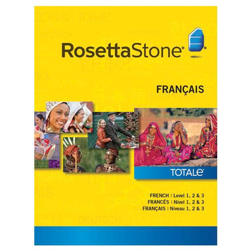 Rosetta Stone French Level 1-3
