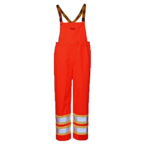 Viking Journeyman Small Insulated Bib Pants (6400PO-S) - Orange