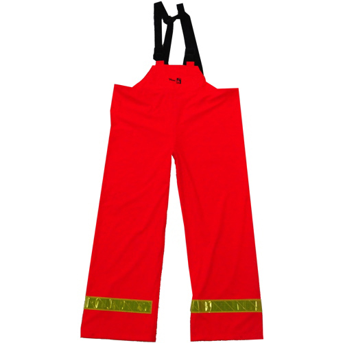Viking FR PU Small Bib Pants (6050FRP-S) - Orange