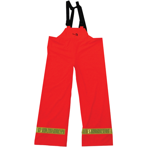 Viking FR PU Medium Bib Pants (6050FRP-M) - Orange
