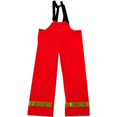 Viking FR PU XL Bib Pants (6050FRP-XL) - Orange