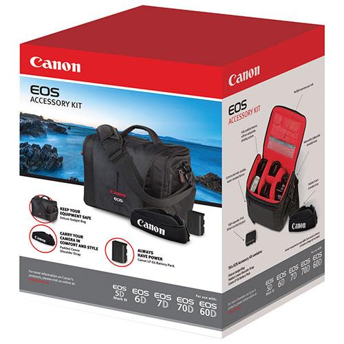 Canon EOS 5D/6D/7D/60D/70D DSLR Accessory Kit (3347B007)
