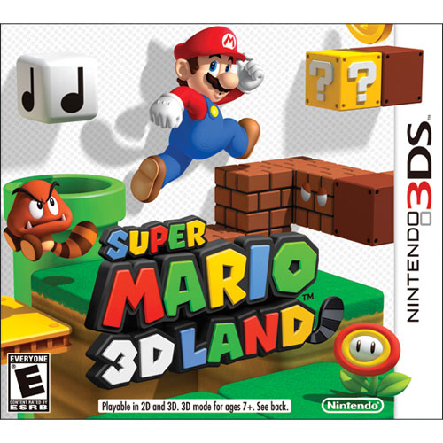 Super Mario 3D Land (3DS) - Previously Played