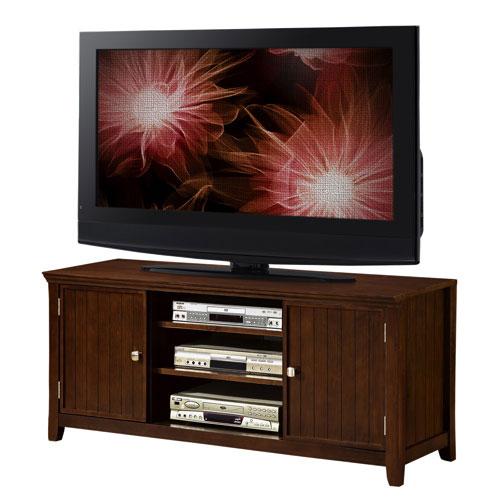 "Simpli Home Acadian 60"" TV Stand - Tobacco Brown"