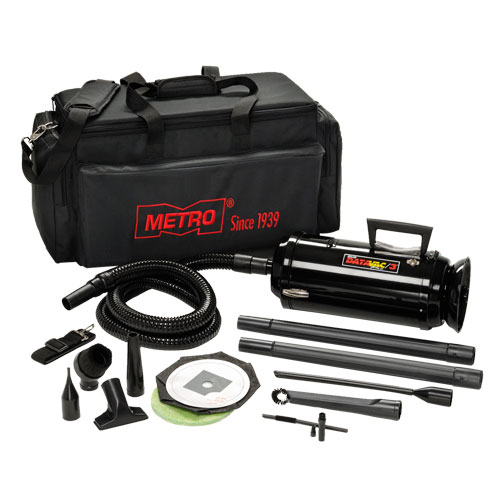Metro DataVac Pro Series Toner Vac & Micro Cleaning Tools - Black