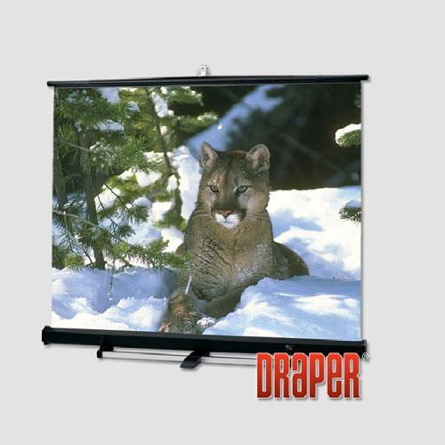 "Draper Luma 2/R 69"" x 92"" Portable Front Projection Screen"