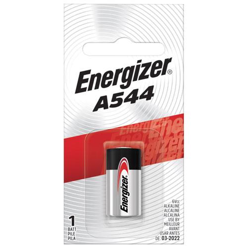 Piles alcalines d'Energizer A544 (A544BPZ)
