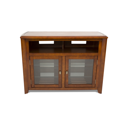 """TechCraft Solid Wood TV Stand for TVs Up To 55"""" (AWC5036) - Brown"""