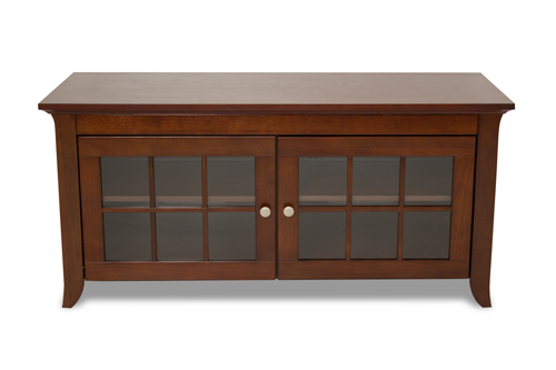 """TechCraft Solid Wood Credenza TV Stand for TVs Up To 55"""" (CRE48) - Brown"""