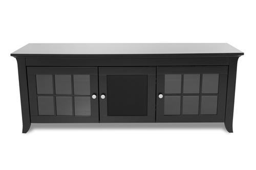 Crédence en bois massif de TechCraft pour téléviseur de 65 po (CRE60B)