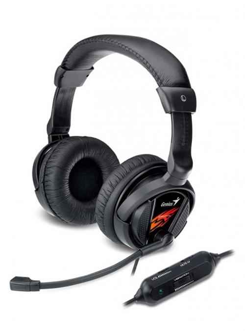 Genius Gaming Headset (HS-G500V) - Black