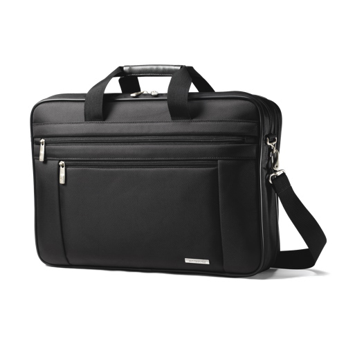 "Samsonite 17"" Laptop Briefcase (43269-10412) - Black"