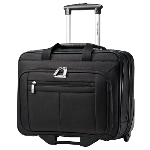 Mallette à roulettes pour ordinateur portatif de 15,6 po de Samsonite (43876-1041) - Noir