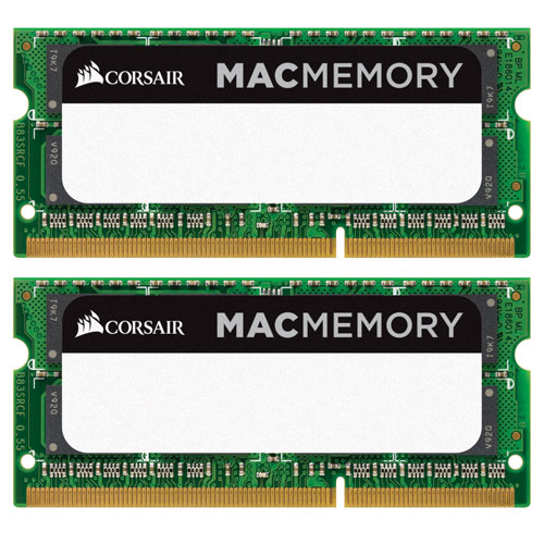 Corsair Mac Memory 8gb 2 X 4gb Ddr3 1333mhz Sodimm Dual Channel