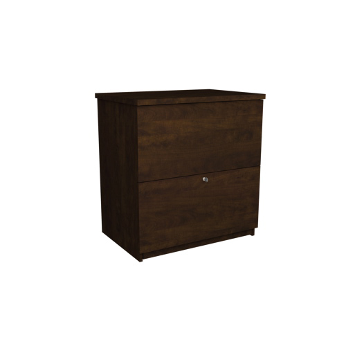 Bestar Lateral Filing Cabinet - Chocolate