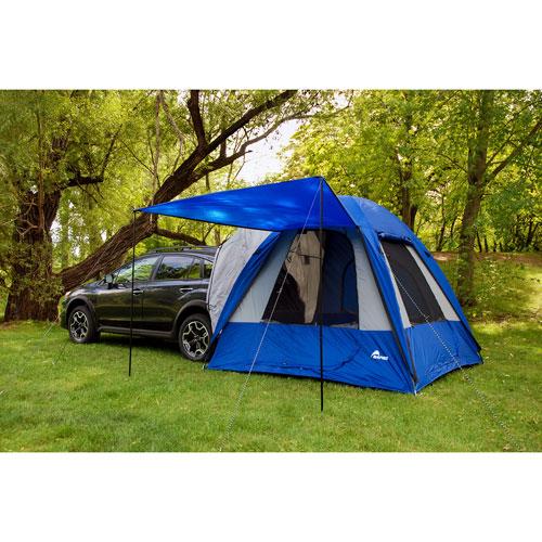 Tente pour véhicule à hayon Dome-To-Go Sportz de Napier - Bleu/Gris/Noir