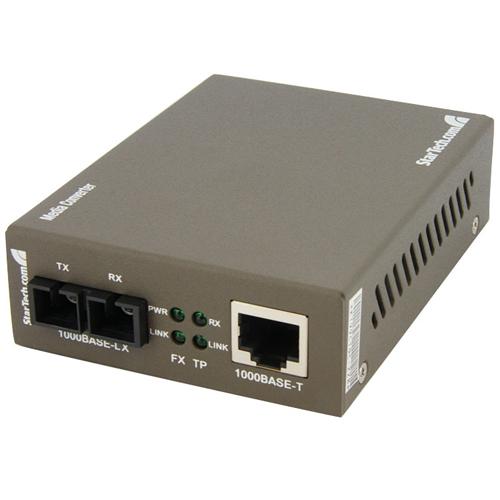 StarTech Fiber Media Converter (MCMGBSC15)
