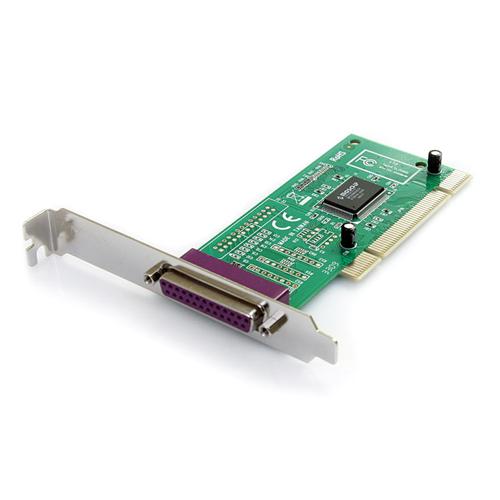 Carte adaptateur parallèle PCI à 1 port de StarTech (PCI1PECP)