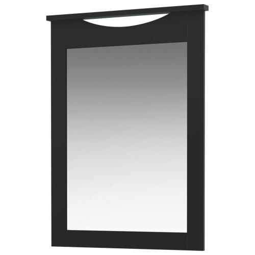 Miroir vertical rectangulaire contemporain de la collection Step One de South Shore - Noir