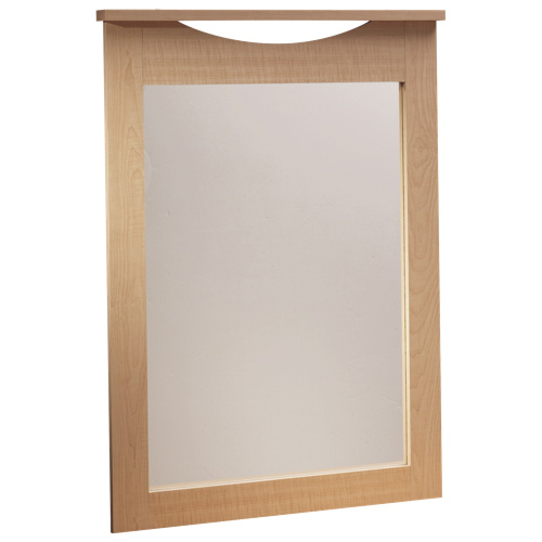 South Shore Step One Collection Dresser Mirror - Maple