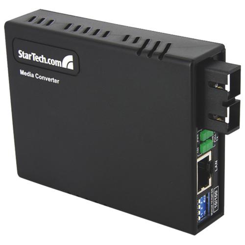 Convertisseur Ethernet sur fibre multimode 10/100 de StarTech (MCM110SC2)