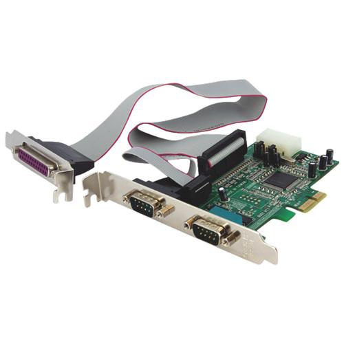 StarTech 2S1P Native PCI-E Parallel Serial Combo Card