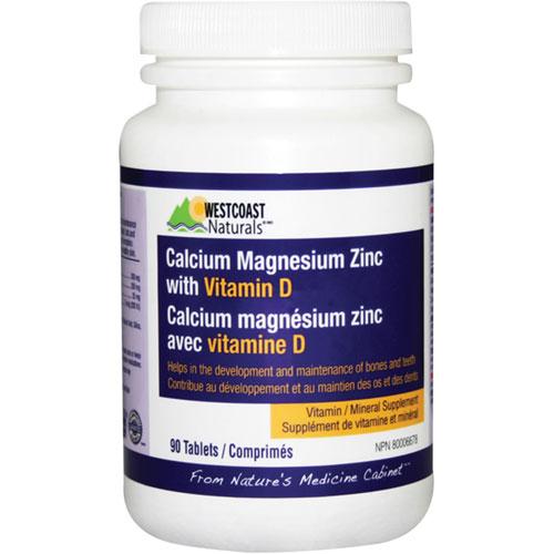 Canadian Zinc Stock Quote: Westcoast Naturals Calcium / Magnesium / Zinc / Vitamin D