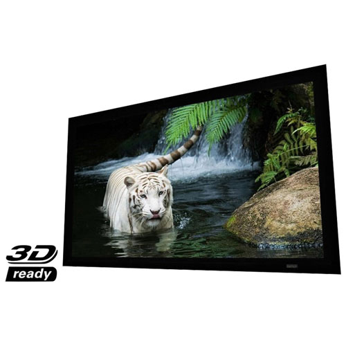 "Elunevision Reference Studio 4K 100"" Fixed-Frame 16:9 Projector Screen (EV-F3-100-1.0)"