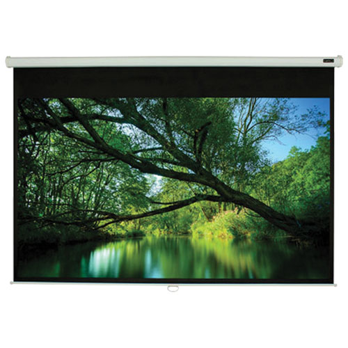 "Elunevision 84"" Manual Pull-Down Projector Screen (EV EV-M-84-1.2-4:3)"