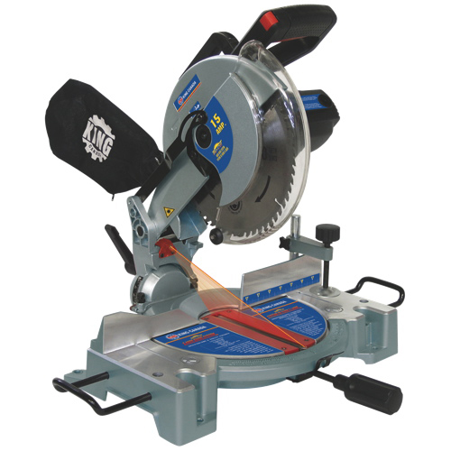 "King Canada 10"" Compound Miter Saw with Laser (8324N)"