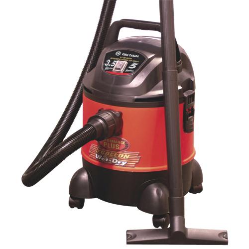 King Canada Performance Plus 19L Wet/Dry Vacuum (8520LP)