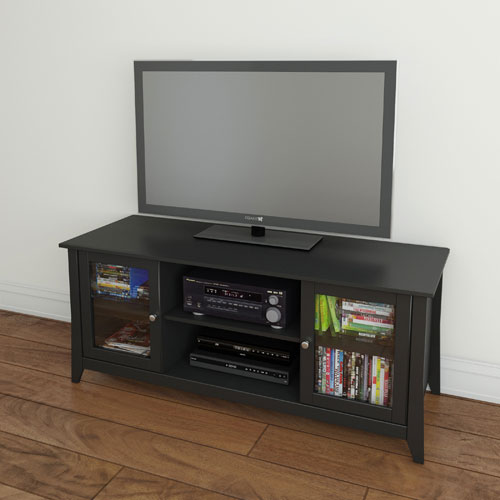 Nexera Tuxedo TV Stand for TVs Up To 62""