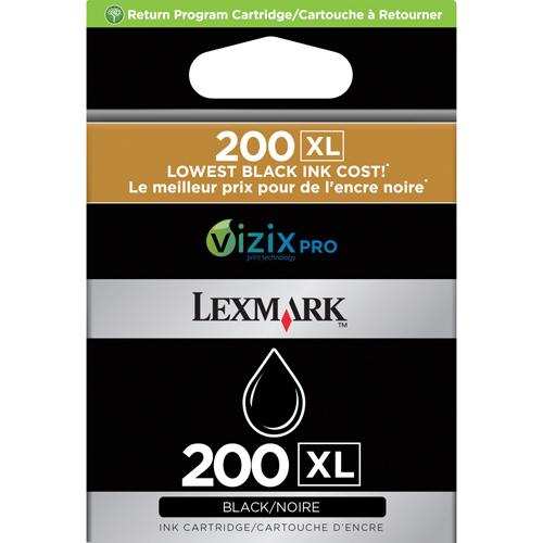 Cartouche d'encre noire 200XL de Lexmark (14L0174)