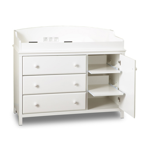 Ordinaire South Shore Cotton Candy Changing Table With Removable Changing Station    Pure White | Best Buy Canada