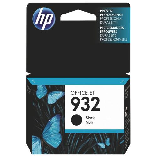Cartouche d'encre noire 932 de HP (CN057AC140)