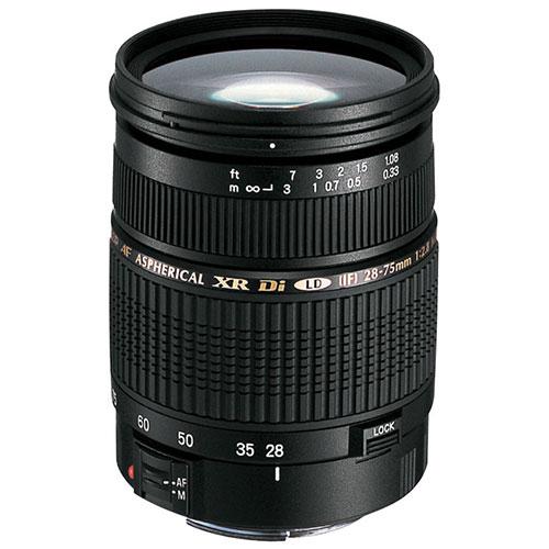 Tamron 28-75mm F/2.8 XR Di Lens for Canon (A09) : DSLR Camera Lenses ...