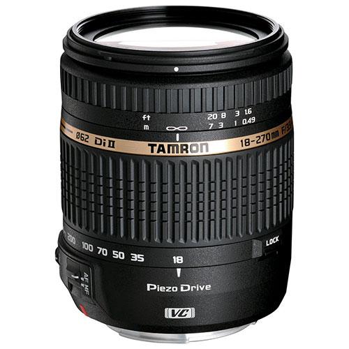 Tamron 18-270mm F/3.5-6.3 Di II VC PZD Lens for Canon (B008)