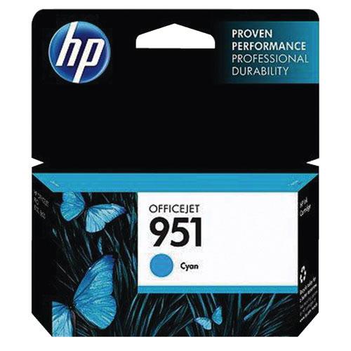 HP 951 Cyan Ink (CN050AC140)